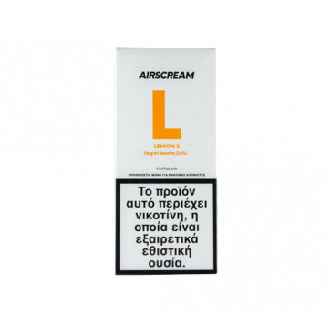 AirScream Pops Lemon S 4 x 1.2ml 09mg Salt