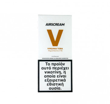 AirScream Pops Virginia Toba 4 x 1.2ml 19mg Salt