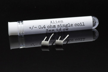 PC COILS#09 - 2 X ALIEN 0.4 ohm 3mm