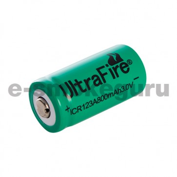 Ultrafire ICR 123A 800mAh 3V