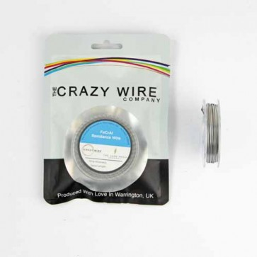 26 AWG Parallel Clapton Coil Wire KA1(26AWG + 26AWG Parallel Wire + 38 AWG) 5 Metre (15ft)