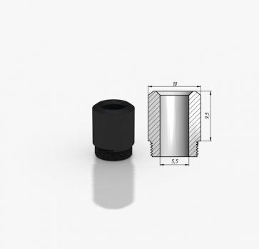 Kayfun 5 Drip Tip POM Tip 9.5mm Black