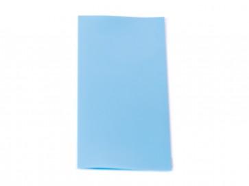 18650 Battery PVC Wrap Light Blue
