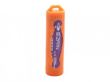 Silicone Case for batteries 18650 Orange