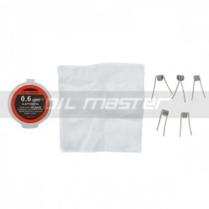 Coil Master Pre-built K clapton Coil 0.60 Ohm