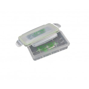 Waterproof plastic box for 2x 18650 or 4x18350 batteries