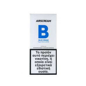 AirScream Pops Blue Cream 4 x 1.2ml 09mg Salt