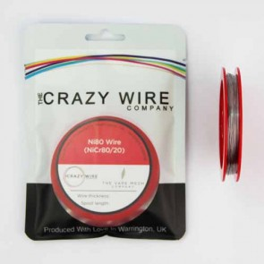 0.35mm (28 AWG) Ni80 (Nickel Chrome 80/20 (NiCr8020) Resistance Wire) - 11.21 ohms/m