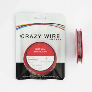 0.50mm (24 AWG) Ni80 (Nickel Chrome 80/20 (NiCr8020) Resistance Wire) - 5.37 ohms/m