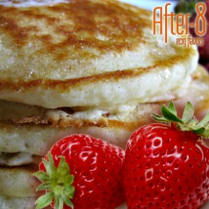 Creamy Strawberry Pancakes Flavor After-8