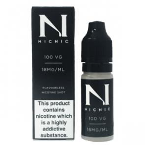 NicNic 100VG Nicotine Booster 10ml