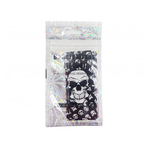 18650 Battery PVC Wrap Skulls(5pcs)