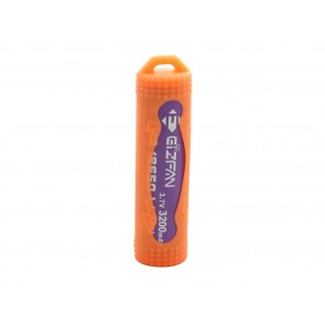 Silicone Case for batteries 18650 Orange