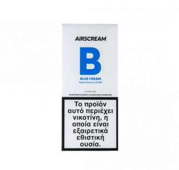 AirScream Pops Blue Cream 4 x 1.2ml 09mg Salt