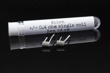 PC COILS#09 - 2 X ALIEN 0.4 ohm 3mm