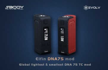 Elfin DNA75 - Sbody Black