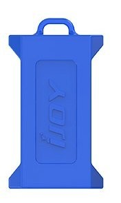 iJoy Silicone Case Blue for Dual 20700/21700 Batteries