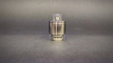 Skydrop with Drip Tip-Liquid controller PC1000 polished & Half Metal Tank 1Stroke & Half PC1000 Tank polished
