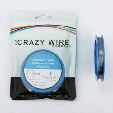 0.4mm (26 AWG) KA1 (FeCrAl A1) Wire - 11.46 ohms/m