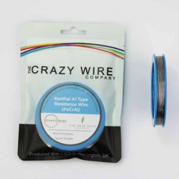 0.5mm (24 AWG) KA1 (FeCrAl A1) Wire - 7.11 ohms/m