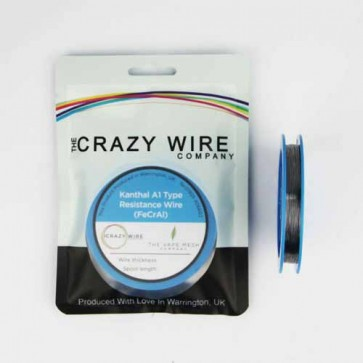 0.32mm (28 AWG) KA1 (FeCrAl A1) Wire - 17.46 ohms/m