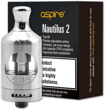 Aspire Nautilus 2 Silver (Stainless Steel)