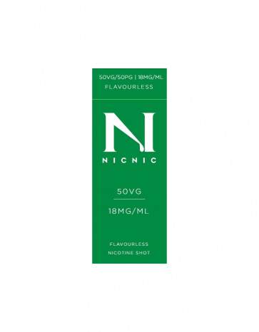 NicNic 50/50 Nicotine Booster 10ml