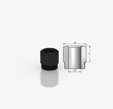 Kayfun 5 Drip Tip POM Tip 7mm Black
