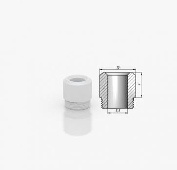 Kayfun 5 Drip Tip POM Tip 7mm White