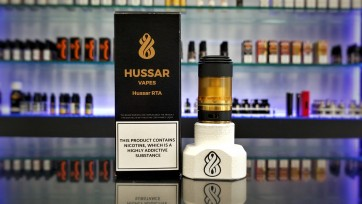 Hussar RTA Gold & Black Special Edition with Micro Tank Ultem