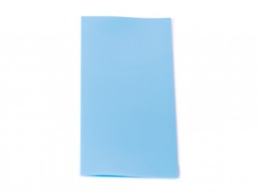 Θερμοσυστελλόμενο κάλυμμα PVC για μπαταρίες 18650 Γαλάζιο