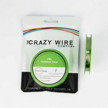 0.5mm (24 AWG) - SS316L (Marine Grade Stainless Steel Wire) - 3.82 ohms/m