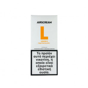 AirScream Pops Lemon S 4 x 1.2ml 19mg Salt
