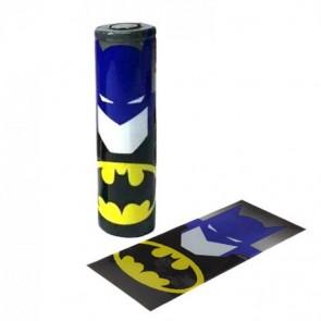 Θερμοσυστελλόμενο κάλυμμα PVC για μπαταρίες 18650 Batman