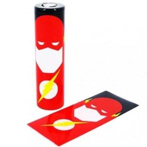 Θερμοσυστελλόμενο κάλυμμα PVC για μπαταρίες 18650 Flash