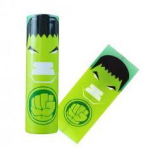 Θερμοσυστελλόμενο κάλυμμα PVC για μπαταρίες 18650 Hulk