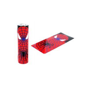 Θερμοσυστελλόμενο κάλυμμα PVC για μπαταρίες 18650 Spiderman