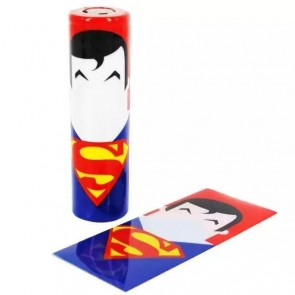 Θερμοσυστελλόμενο κάλυμμα PVC για μπαταρίες 18650 Superman