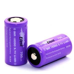 Efest Purple IMR 18350 -700 mAh 3.7V 10.5A