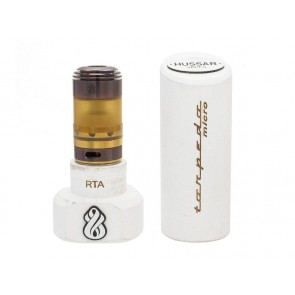 Hussar RTA Purple & Gold Special Edition with Micro Tank Ultem