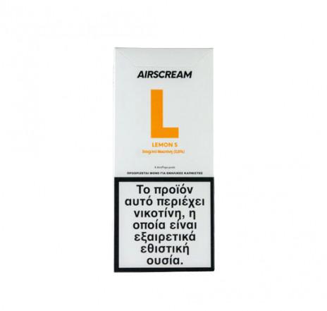 AirScream Pops Lemon S 4 x 1.2ml 09mg Salt