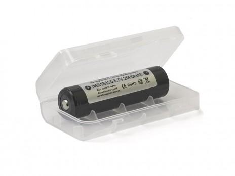 Keeppower Box for 2x 18650 (transparent) M3
