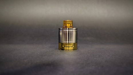 Skydrop with Drip Tip-Liquid controller Ultem polished & Half Metal Tank 1Stroke & Half Ultem Tank polished