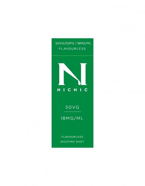 NicNic 50/50 Nicotine Booster 10ml