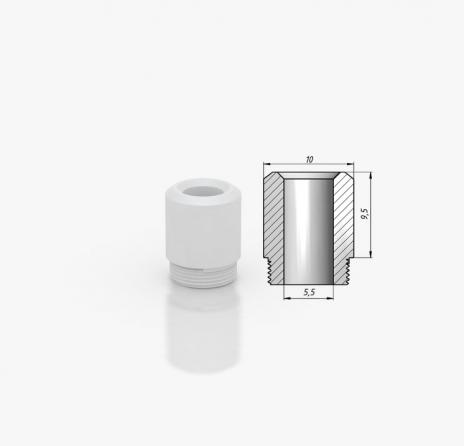 Kayfun 5 Drip Tip POM Tip 9.5mm White