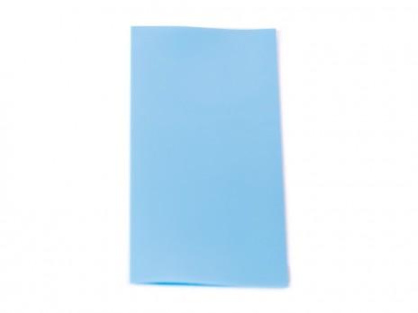 PVC Wärmeschrumpfschlauch ø18,12 x 70mm für 18650 Zellen Hellblau