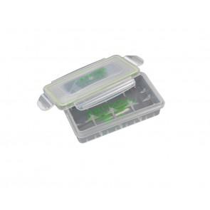 Wasserdichte Plastik Box für 2x 18650 oder 4x18350 Akkus