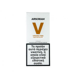 AirScream Pops Virginia Toba 4 x 1.2ml 09mg Salt