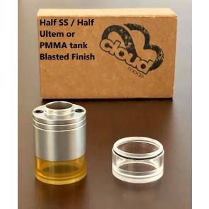 Half SS / Half Ultem or PMMA tank