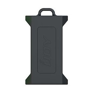 iJoy Silicone Case Black for Dual 20700/21700 Batteries